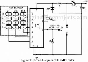 dtmf based remote control system With dtmf decoder