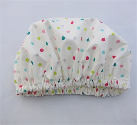 Shoo Shower Cap - shower cap sweet confetti laminated cotton shop