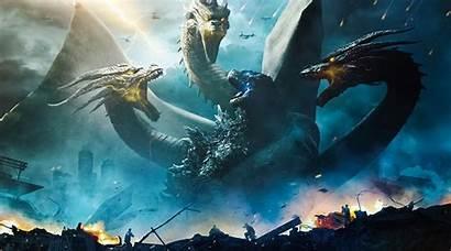 Godzilla Monsters King 4k Wallpapers Background Ultra