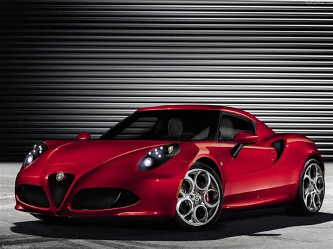 Alfa Romeo 4c (2014) Hd Wallpapers