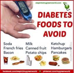 Diabetes foods to avoid - Diabetes - Pinterest Diabetic Diet
