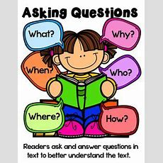 Student Asking Question Clipart Collection