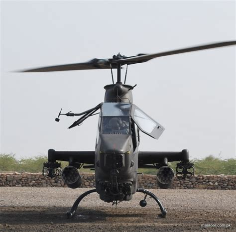 Pakistani Ah-1f Cobra Gunship Helicopter-ii