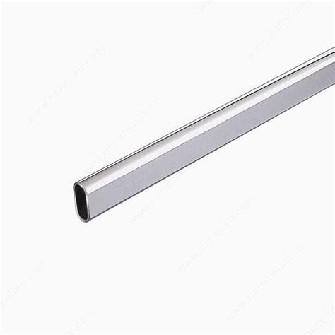 steel oval rods chrome richelieu hardware