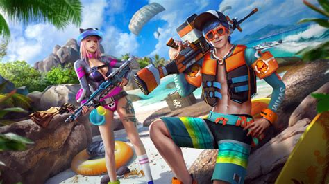 Experience it now and share it with your friends! Free Fire: mira cómo lucen los skins de verano y así ...
