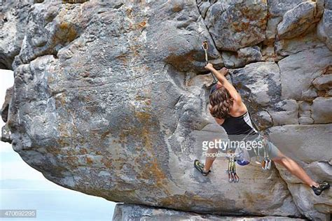 Rock Climbing Stock Photos Pictures Getty Images