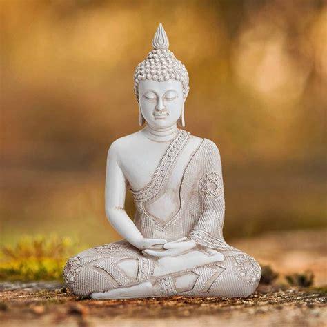 Deko In Weiß by Deko Thai Buddha Figur Sitzend Wei 223 H 246 He 30 Cm Kaufen