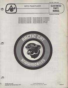 1972 Arctic Cat Parts Manual