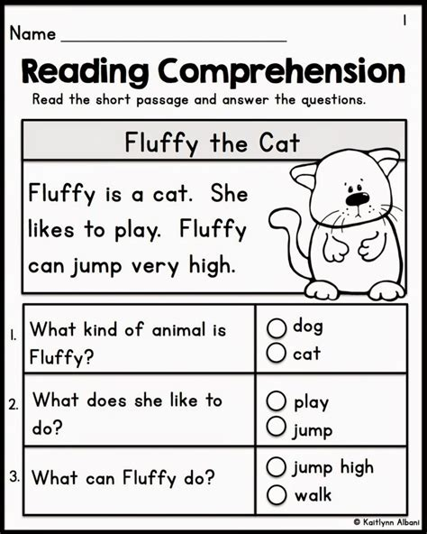 free reading comprehension worksheets grade 2
