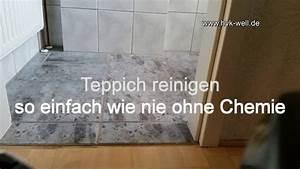 Dampfreiniger Für Parkett : ohne chemie parkett laminat fliesen pvc teppich reinigen youtube ~ Markanthonyermac.com Haus und Dekorationen