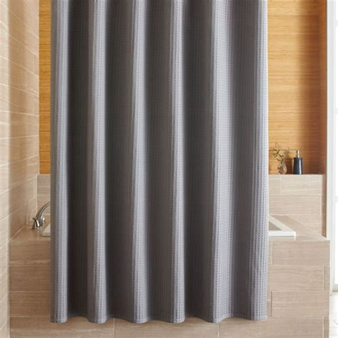 willow grey shower curtain crate  barrel