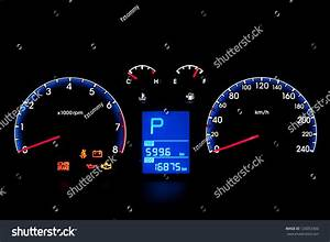 Car Instrument Panel Stock Photo 126053360