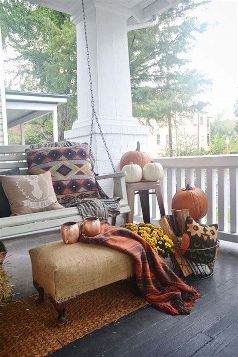 amazing fall inspired front porch decorating ideas