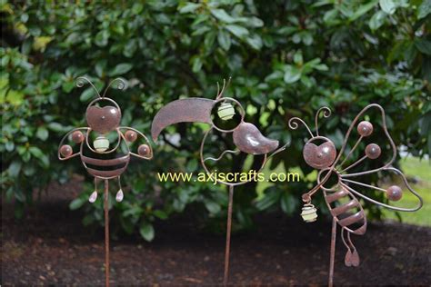 decorative garden stakes whimsical garden critters