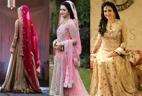Wedding Dresses Pakistani : Pakistani Designer Bridal Dresses 2017-2018 Stunning Designs