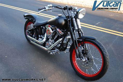 Harley Springer Softail Rake Kit Flsts Flstsb Cross Bones