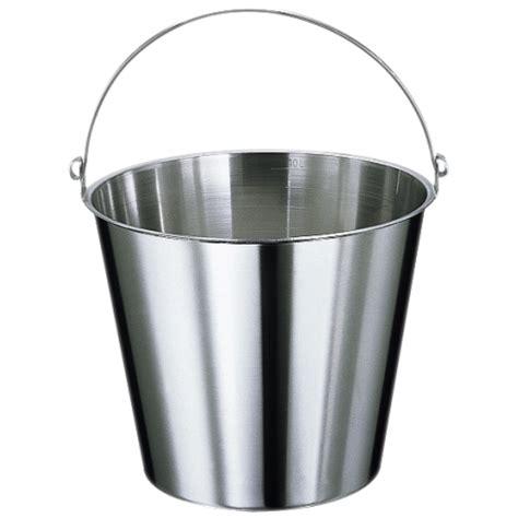 seau inox toilette seche sans base