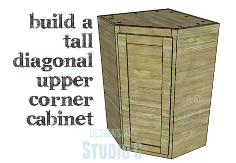 how to build a corner kitchen cabinet diy plans to build a diagonal corner cabinet 9287