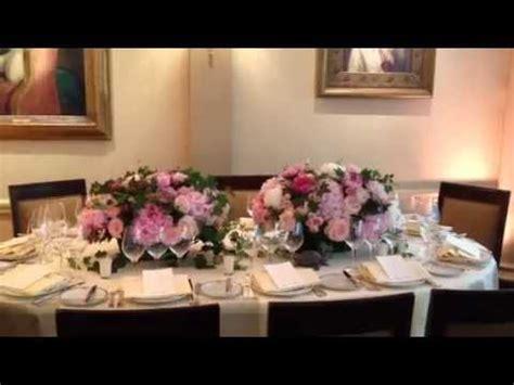 deco fleur table mariage centre de table mariage pour fleurs fruits feuillages