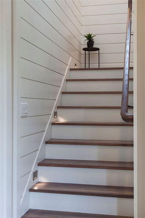 shiplap staircase shiplap staircase shiplap staircase
