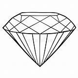 Coloring Diamond Jewel Icon Diamante Corel Abgehobenen Betrag Auch Diamant Illustratie Illustrazione Pictogram Kleurende Juweel Het Gioiello Coloritura Icona Vettore sketch template