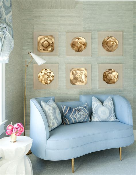 Bedroom Decor Blue And Gold by Blue And Gold Rooms Design Ideas