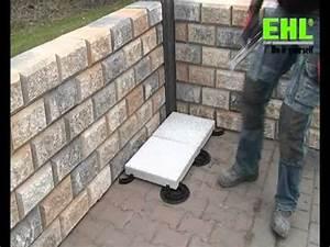 Betonplatten Verlegen Auf Erde : ehl terrassenplatten auf stelzlagern verlegen youtube ~ Whattoseeinmadrid.com Haus und Dekorationen