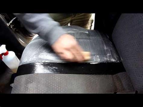 nettoyer des si鑒es de voiture en tissus comment nettoyer détacher laver un siège banquette de voiture bateau funnydog tv