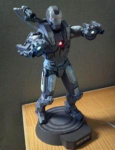Iron Man War Machine Paper Craft | Gadgetsin