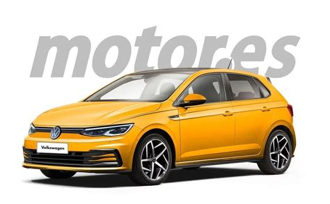 Some of the new and improved bits have trickled down from the latest golf. Future Volkswagen Polo restylée : des airs de Golf 8 pour ...