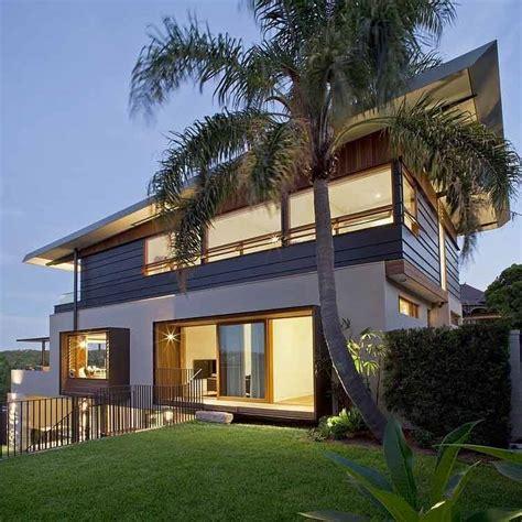 desain rumah kayu model minimalis sederhana modern