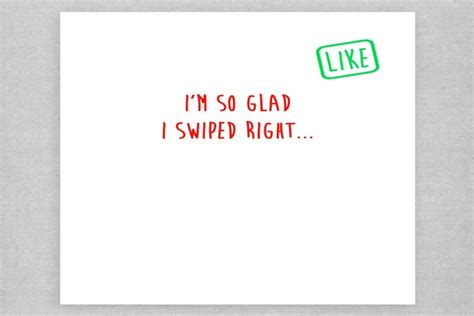 card template tinder tinder valentine s day card for when swiping right paid off
