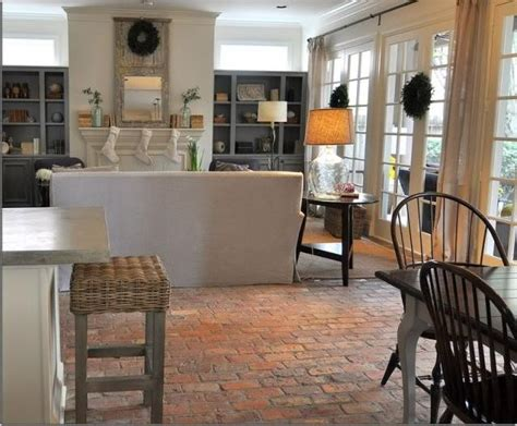 brick pavers kitchen photos