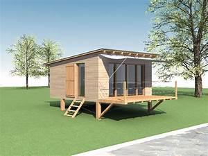 Extension Maison Bois Kit : kit extension bois 30m2 ~ Melissatoandfro.com Idées de Décoration