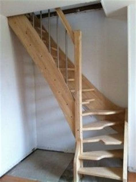 escalier gain de place subtile 1 4 tournant contemporain escalier places and html