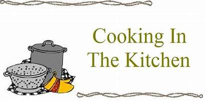 Cooking Clipart Kitchen Class Classes Chef Cliparts