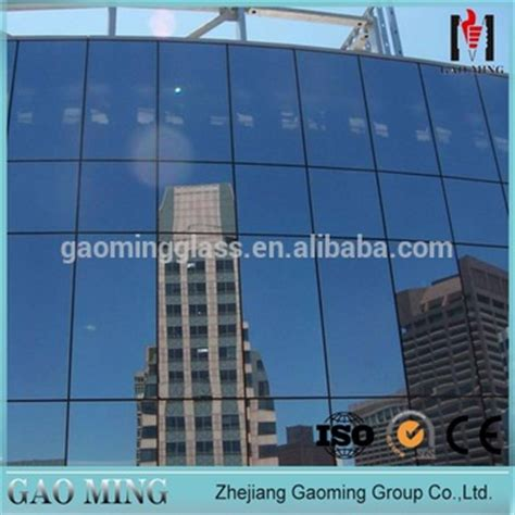 frame glass curtain wall with low e glazing