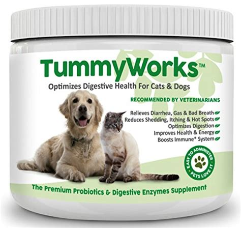probiotics  dogs cats  powder  relieve