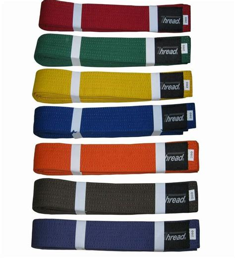 martial arts belt colors martial arts belt karate taekwondo judo jiu jitsu color