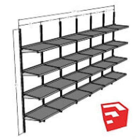Wall Shelves Wall Mounted Adjustable Shelving System Wall