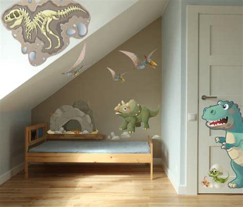 decore ta chambre stickers enfant squelette vente de sticker dinosaure pour