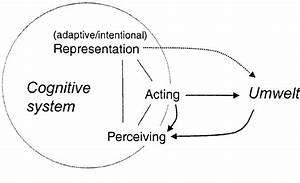 A Simple Model Of A Cognitive System  The Dotted Arrow