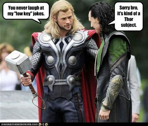 Thor Memes Funny Thor Loki And Hulk Pictures