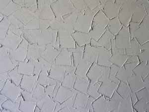 apply artex patterned finishes  walls