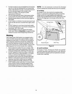 Page 16 Of Cub Cadet Lawn Mower Lt1050 User Guide