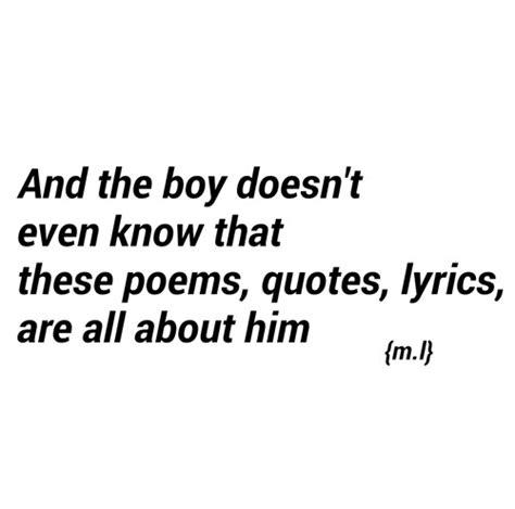 Short Boy Crush Quotes