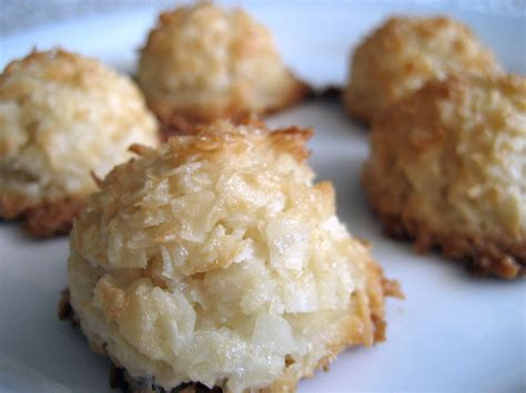 coconut macaroons sally s coconut macaroons recipe dishmaps
