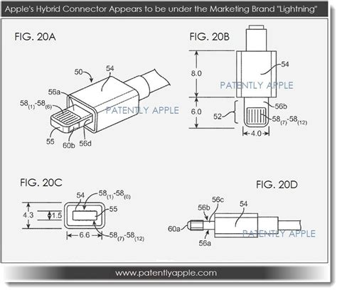 apple electro optical connector patents surface that may point to quot lightning s quot road map