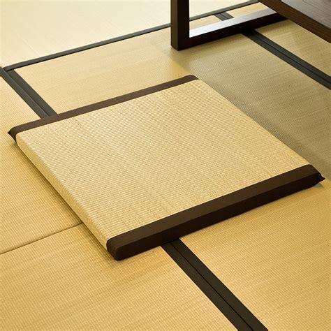 Japanese Floor Mat - zen cushion zabuton zafu square 65cm floor meditation seat