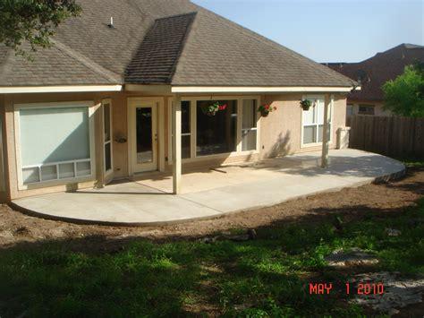 concrete patios easter concrete construction our work
